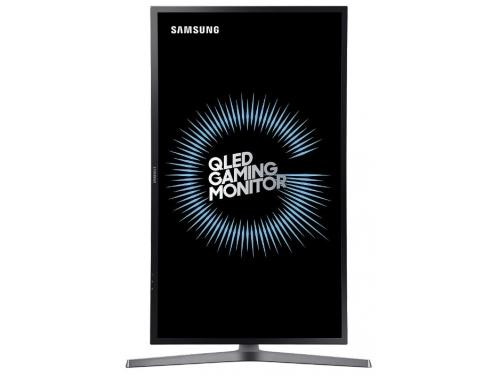 Монитор Samsung C32HG70QQI темно-серый, вид 8