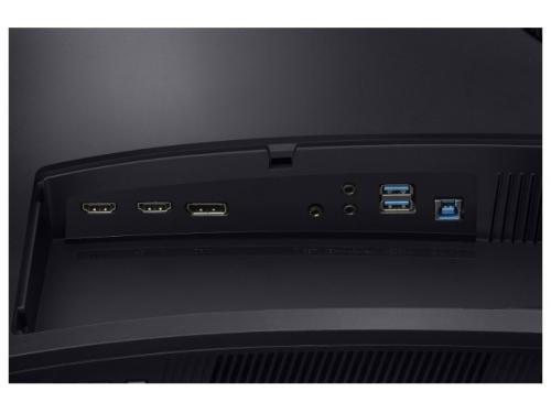 Монитор Samsung C32HG70QQI темно-серый, вид 9