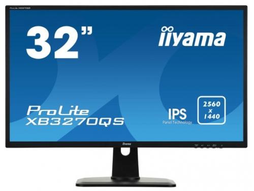 Монитор Iiyama ProLite XB3270QS-B1 черный, вид 1