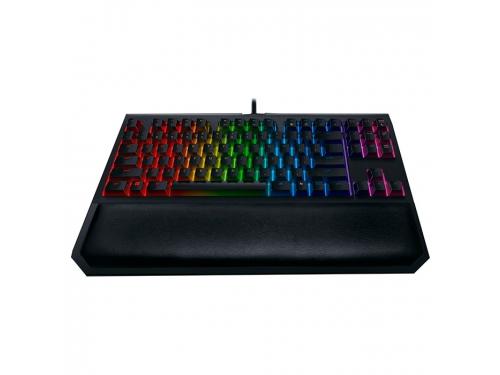 Клавиатура Razer BlackWidow Tournament Chroma V2 (Orange Switch), чёрная, вид 1
