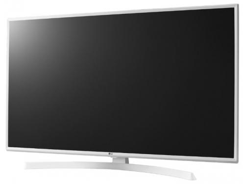 телевизор LG 49UK6390PLG, белый, вид 1