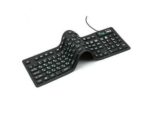 Клавиатура Dialog Flex KFX-05U черная, вид 1