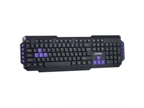 Клавиатура Perfeo Robotic Multimedia черная, вид 1
