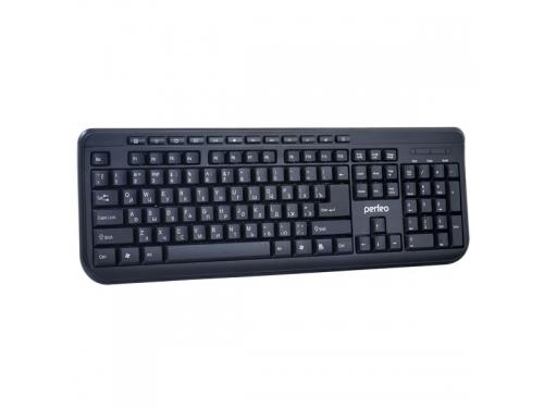 Клавиатура Perfeo Texter Multimedia, черная, вид 1