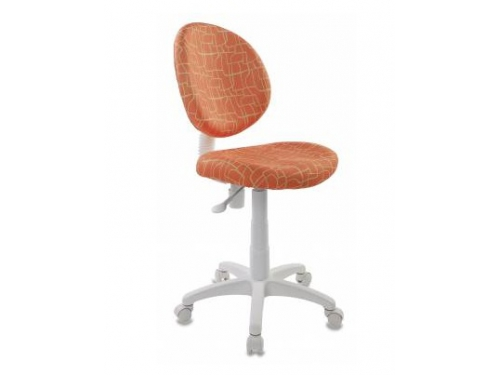 Компьютерное кресло Бюрократ KD-W6-Giraffe жираф, оранжевое, вид 1