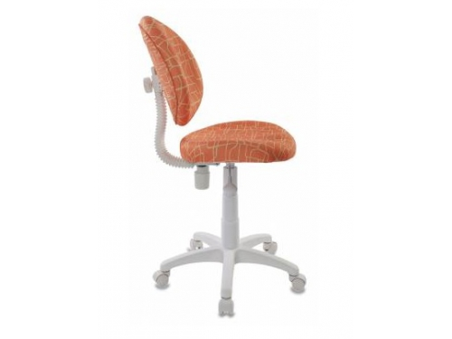 Компьютерное кресло Бюрократ KD-W6-Giraffe жираф, оранжевое, вид 3