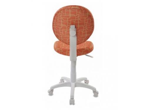 Компьютерное кресло Бюрократ KD-W6-Giraffe жираф, оранжевое, вид 4