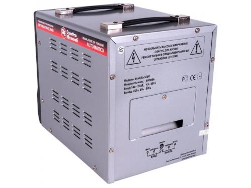 Стабилизатор напряжения Quattro Elementi Stabilia 5000, серый, вид 4