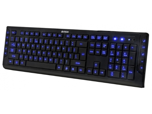 Клавиатура A4Tech KD-600L-1 Black USB, вид 1