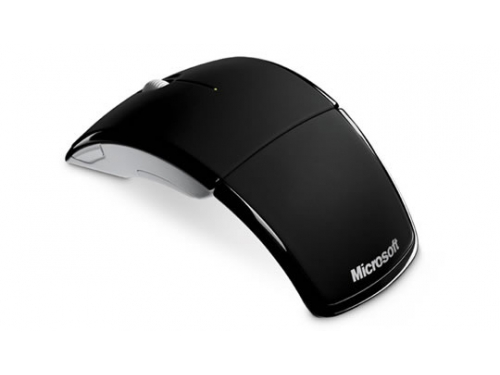 Мышка Microsoft Arc mouse USB Black , вид 1
