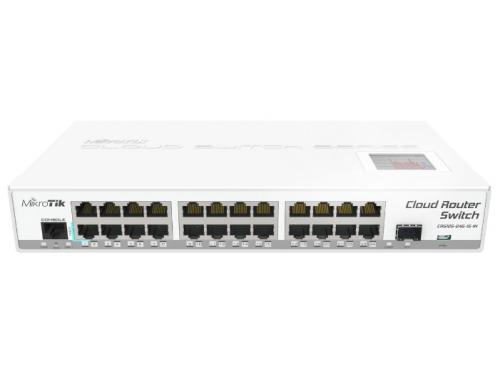 Роутер WiFi MikroTik CRS125-24G-1S-IN, вид 1