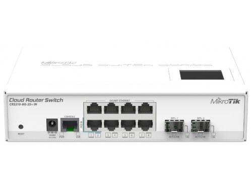 ������ WiFi MikroTik CRS210-8G-2S+IN, ��� 1