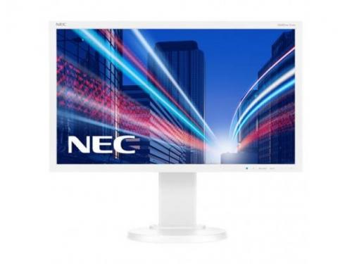 Монитор Nec MultiSync E224Wi, серебристо-белый, вид 1
