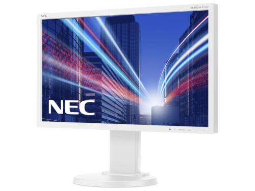 Монитор Nec MultiSync E224Wi, серебристо-белый, вид 2