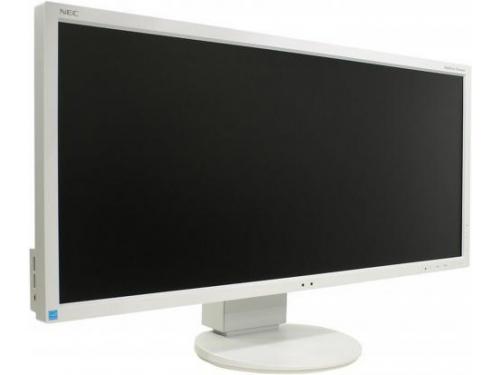 Монитор Nec MultiSync E233WM, серебристо-белый, вид 1