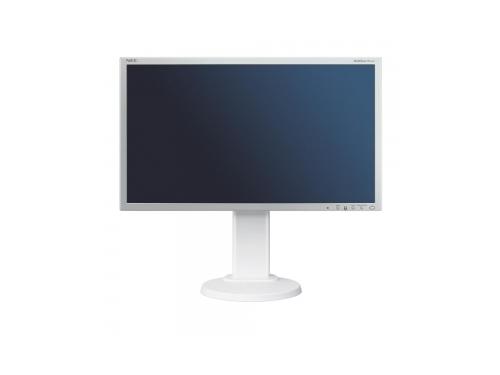 Монитор Nec MultiSync E233WM, серебристо-белый, вид 3