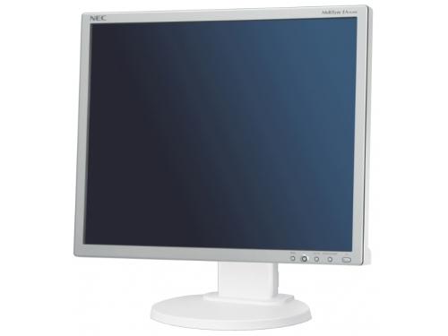 Монитор NEC MultiSync EA193Mi, серебристо-белый, вид 1