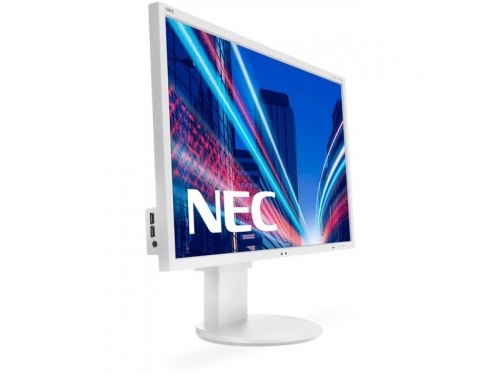 Монитор NEC MultiSync EA275WMi, серебристый, вид 1