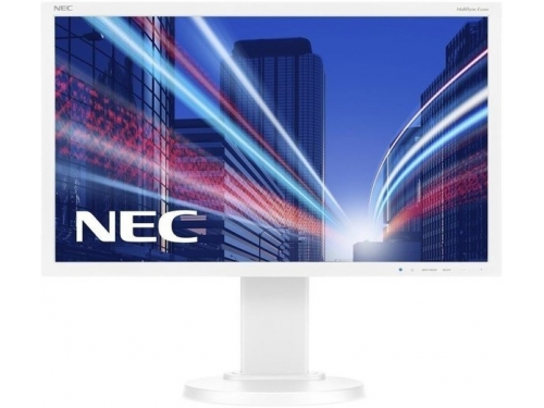 Монитор NEC MultiSync EA275WMi, серебристый, вид 2