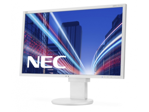 Монитор NEC MultiSync EA275WMi, серебристый, вид 3