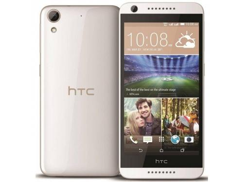Смартфон HTC Desire 626G dual sim, белый/розовый, вид 1