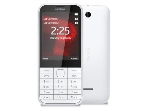 Сотовый телефон Nokia 222 DS белый, вид 3
