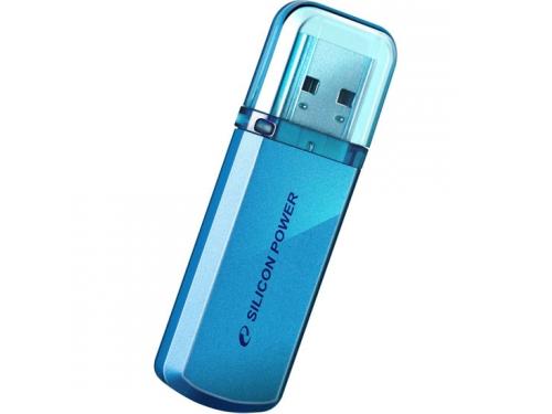Usb-флешка Silicon Power Helios 101 16Gb,голубая, вид 1