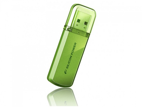 Usb-флешка Silicon Power Helios 101 16Gb,голубая, вид 2