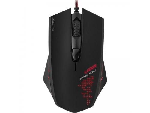 Мышка Speedlink LEDOS Чёрная, вид 1