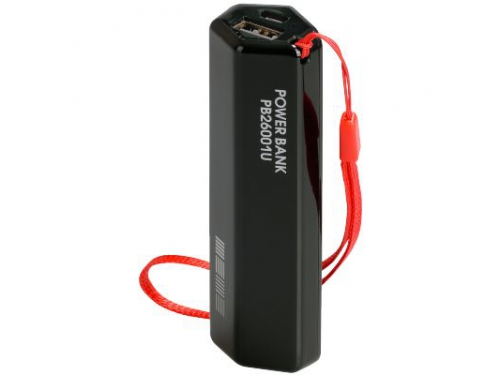 Аксессуар для телефона Inter-Step PB26001UB, черный с красным ремешком, вид 1