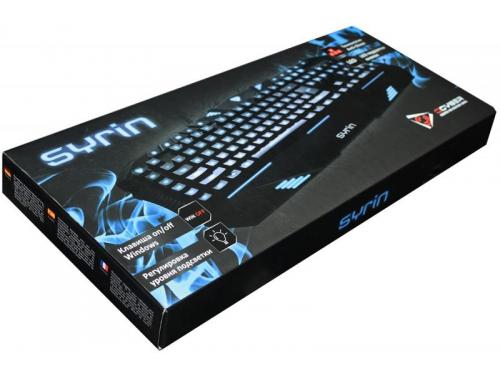 Клавиатура Qcyber Syrin Black (GK002), вид 2