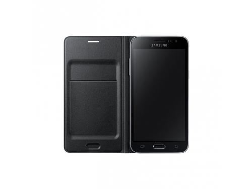 Чехол для смартфона Samsung для Samsung Galaxy J3 Flip Wallet, черный, вид 2