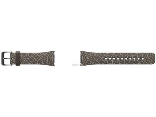 Ремешок для умных часов Samsung Galaxy Gear S2 Mendini collection, темно-коричневый, вид 1