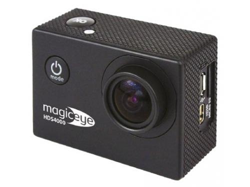 Видеокамера Gmini MagicEye HDS4000, экшн-камера с набором принадлежностей, черная, вид 2