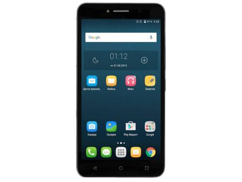 Смартфон Alcatel OneTouch PIXI 4 8050D Volcano, Black, вид 1
