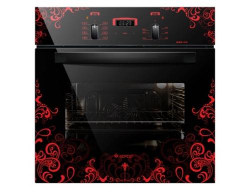 Духовой шкаф Gefest ДА 622-02 К16, черный, вид 1