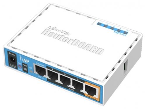 Роутер WiFi MikroTik hAP (802.11n), вид 2