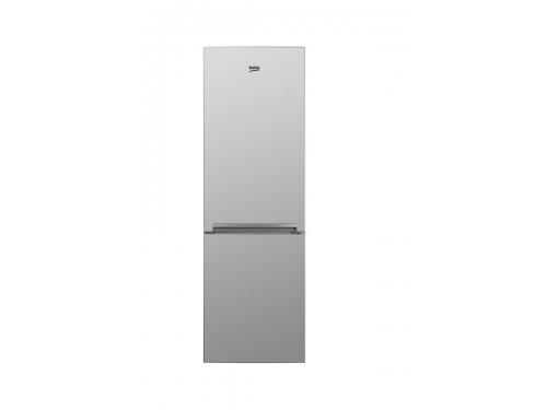 Холодильник Beko RCNK 270K20S, серебристый, вид 1
