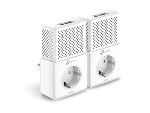 PowerLine-адаптер TP-Link TL PA7020P Kit, комплект адаптеров, вид 2