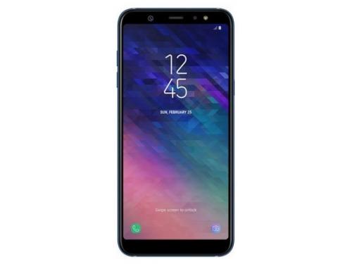 Смартфон Samsung Galaxy A6+ 3/32Gb, синий, вид 2