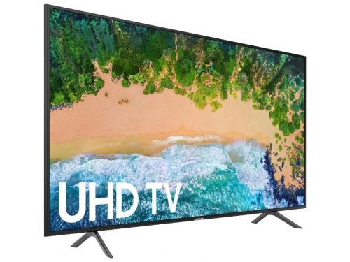 телевизор Samsung UE49NU7100U, черный, вид 1