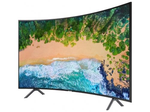 телевизор Samsung UE55NU7300U, черный, вид 1