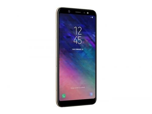 Смартфон Samsung Galaxy A6+ 3/32Gb, золотистый, вид 1