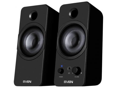 Компьютерная акустика Sven 430 2.0 черная, вид 1