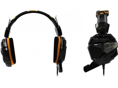 Гарнитура для ПК Jet.A GHP-300 Pro, черно-оранжевая, вид 1