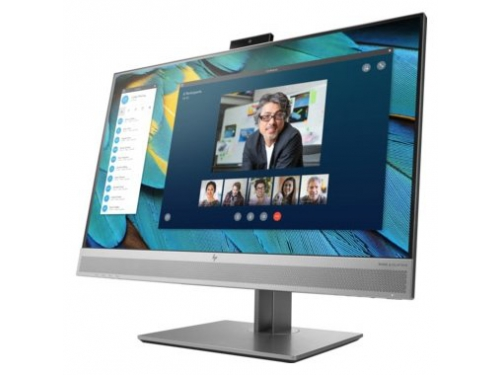 Монитор HP EliteDisplay E243m, серебристый, вид 1