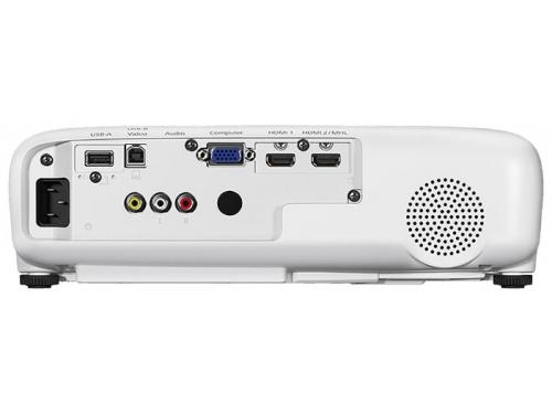 Мультимедиа-проектор Epson EH-TW610 белый, вид 3