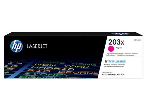 Картридж для принтера HP LaserJet 203X (CF543X), пурпурный, вид 1