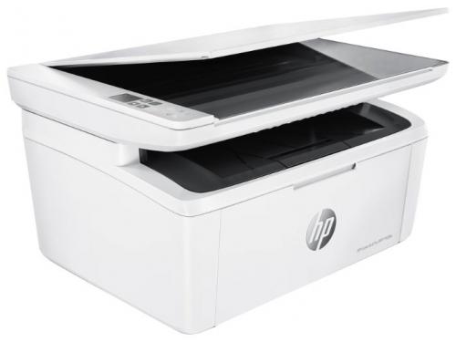 МФУ HP LaserJet Pro MFP M28w белый, вид 1