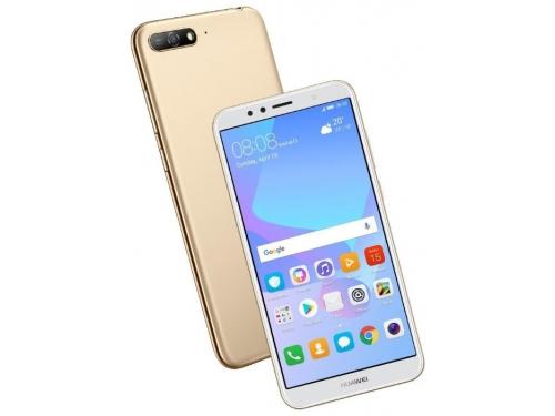 Смартфон Huawei Y6 2018 Prime ATU-L31, золотистый, вид 1